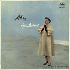 Discos de vinilo: JUDY GARLAND - ALONE. Lote 32551099