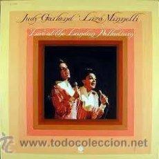 Discos de vinilo: JUDY GARLAND, LIZA MINNELLI - LIVE AT THE LONDON PALLADIUM. Lote 32551113
