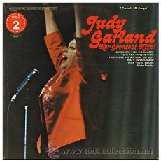 Discos de vinilo: JUDY GARLAND - HER GREATEST HITS. Lote 32551123