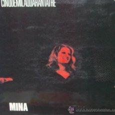 Discos de vinilo: MINA - CINQUEMILAQUARANTATRE. Lote 32551427