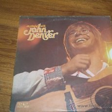 Discos de vinilo: LP DOBLE JOHN DENVER. AN EVENING WITH JOHN DENVER RCA 1975. Lote 214194796