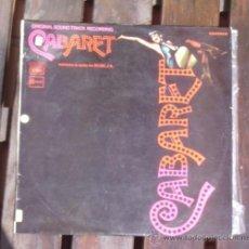 Discos de vinilo: CABARET - EMI- 1972. Lote 32557767