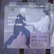 Discos de vinilo: A KING IN NEW YORK - CHAPLIN -COLUMBIA. Lote 32558228