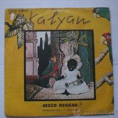 Discos de vinilo: KALYAN, DISCO REGGAE, SINGLE 7. Lote 108968435