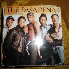 Discos de vinilo: THE PASADENAS. MAKE IT WITH YOU / I WANT TO BE. EDICION INGLESA. Lote 32561699