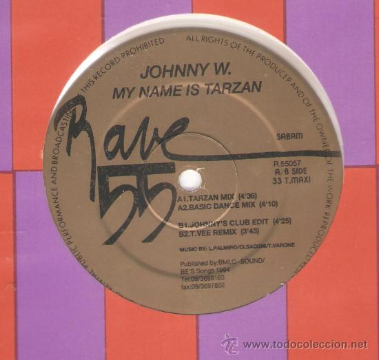 Discos de vinilo: 3 DISCOS DE ELECTRONIC TRANCE : SPEAKEASY, RAVE 55, SEE:3 , RIVERSIDE, JOHNNY W. - Foto 6 - 32563112