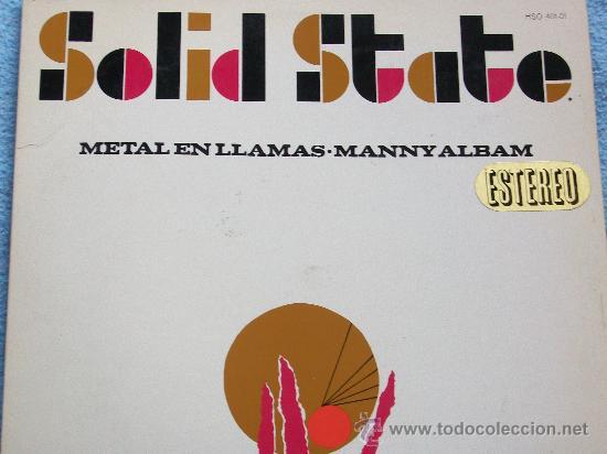 MANNY ALBAM,METAL EN LLAMAS EDICION ESPAÑOLA DEL 67 (Música - Discos - LP Vinilo - Orquestas)