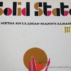 Disques de vinyle: MANNY ALBAM,METAL EN LLAMAS EDICION ESPAÑOLA DEL 67. Lote 32564169