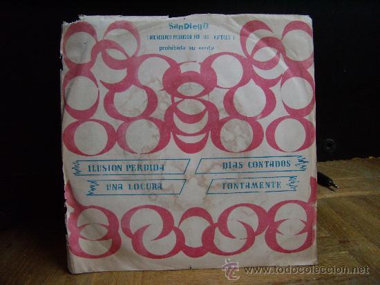 DINAMIK GROUP - ILUSION PERDIDA/UNA LOCURA/DIAS CONTADOS/TONTAMENTE (SANDIEGO 1975) (Música - Discos de Vinilo - EPs - Grupos Españoles de los 70 y 80)