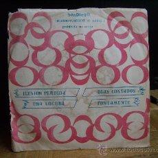 Discos de vinilo: DINAMIK GROUP - ILUSION PERDIDA/UNA LOCURA/DIAS CONTADOS/TONTAMENTE (SANDIEGO 1975). Lote 32567831