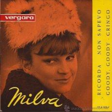 Discos de vinilo: EP-MILVA-VERGARA 356010-1963-GOODY GOODYCARA. Lote 32570516