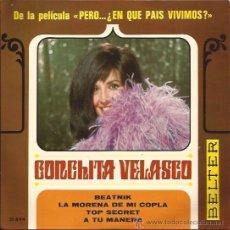 Discos de vinilo: EP-CONCHITA VELASCO-BELTER 51844-1967-BEATNIK. Lote 32570711