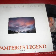 Discos de vinilo: DEBORAH JONES PAMPERO'S LEGEND/ RADIO VERSION/ INSTRUMENTAL 12