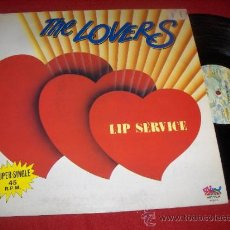 Discos de vinilo: THE LOVERS LIP SERVICE/ INSTRUMENTAL 12