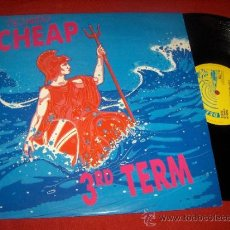 Discos de vinilo: CHEAP THIRD TERM/ BURIED BY THE MACHINE/ THE NEWSHOUND 12
