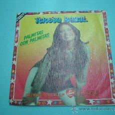 Discos de vinilo: TERESA RABAL DISCO VINILO PEQUEÑO 1983 PALMITAS CON PALMITAS. Lote 32585660