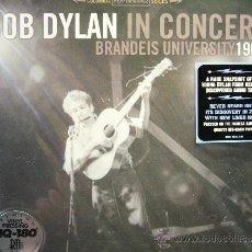 Discos de vinilo: BOB DYLAN IN CONCERT 1963 LP PRECINTADO 180GR. RAREZA. Lote 32591229