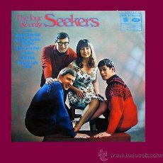 Discos de vinilo: SEEKERS, THE LP THE FOUR & ONLY SEEKERS 1964 MFP 1301 UK. Lote 32594384