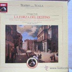 Discos de vinilo: VERDI: LA FORZA DEL DESTINO -CALLAS/TUCKER/SERAFIN-. 3LP. 1954.. Lote 32755894