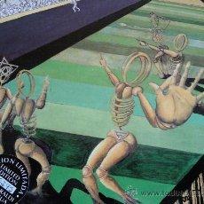 Disques de vinyle: BETI MUGAN - MUGAK CUGAN DAUDE / STUPID GAMES - PORTADA ABIERTA - BASATI DISKOK 1992. Lote 32599204