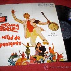 Discos de vinilo: TOMMY STEELE LA MITAD DE SEIS PENIQUES BSO OST LP 1968 RCA VICTOR PROMO EDICION ESPAÑOLA SPAIN. Lote 32599311