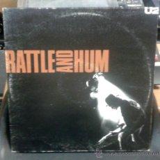 Discos de vinilo: DOBLE LP - U2 - RATTLE AND HUM. Lote 32601564
