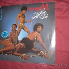 Discos de vinilo: BONEY M LP LOVE FOR SALE 1977 SELLO HANSE GERMANY VER FOTO ADICIONAL. Lote 32603335