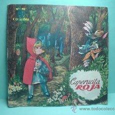 Discos de vinilo: DISCO VINILO. CAPERUCITA ROJA - CUENTO - CUADRO DE ACTORES DE RADIO MADRID - COLUMBIA MN 49. EP 1964. Lote 32605399