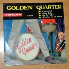 "Discos de vinilo: GOLDEN QUARTER - EP VINILO 7"" - EDITADO EN ESPAÑA - AL RITMO DE LA LLUVIA + 3 - VERGARA 1963. Lote 32610080"