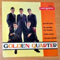 """Discos de vinilo: GOLDEN QUARTER - EP SINGLE VINILO 7"""" - EDITADO EN ESPAÑA - AMÉRICA + 3 - VERGARA - AÑO 1964. Lote 32610104"""