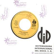 Discos de vinilo: ARANGO * SINGLE VINILO * NO ES AMOR * RARE * PROMOCIONAL.. Lote 32851155