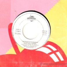 Discos de vinilo: LA PUERTORRIQUEÑA * SINGLE VINILO * CIUDAD CIUDAD * PROMOCIONAL * RARE. Lote 32851444