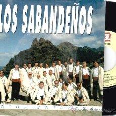 Discos de vinilo: LOS SABANDEÑOS * SINGLE PROMOCIONAL * ADIOS TRISTEZA * RARE. Lote 32883204