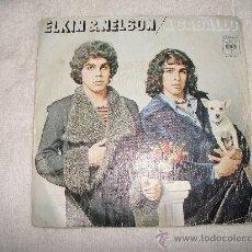 Discos de vinilo: ELKIN & NELSON / A CABALLO / CBS 1974. Lote 32612037