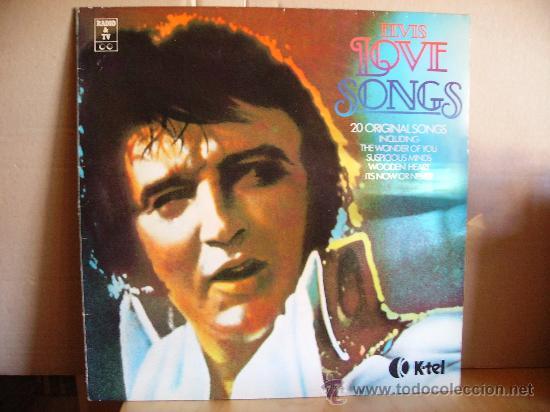 ELVIS PRESLEY ---- LOVE SONGS (Música - Discos - LP Vinilo - Rock & Roll)