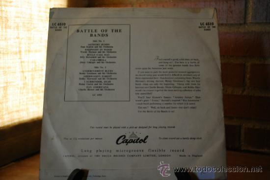 Discos de vinilo: BATTLE OF THE BANDS - Foto 2 - 32761604