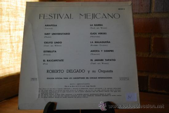 Discos de vinilo: MUSICA MEJICANA - Foto 2 - 32761677