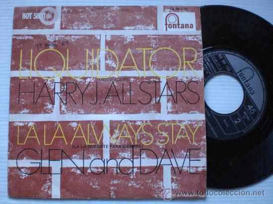 HARRY J. ALL STARS/GLEN DAVE, LIQUIDATOR, SINGLE ESPAÑA 7 SKA EXCELENTE ESTADO VER MAS INFORMACION (Música - Discos - Singles Vinilo - Reggae - Ska)