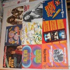 Discos de vinilo: LOTE 9 SINGLES SUPER EXITOS DISCOTECAS AÑOS 60-70. COMO NUEVOS. Lote 36713139