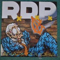 Discos de vinilo: R.D.P. - ANARKOPHOBIA. Lote 32622216