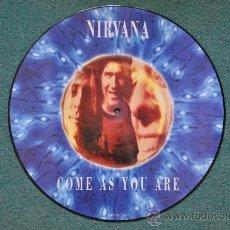 Discos de vinilo: NIRVANA - COME AS YOU ARE (PICTURE DISC) ORIGINAL . Lote 32622495