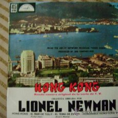 Discos de vinilo: LIONEL NEWMAN - BANDA SONORA ORIGINAL DE LA SERIE DE T.V. HONG KONG 1962 . Lote 32630375