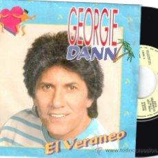 Discos de vinilo: GEORGIE DANN * SINGLE VINILO * EL VERANEO * PROMOCIONAL * MUY RARO. Lote 32724139