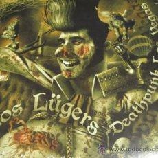 Discos de vinilo: LOS LUGERS & THE SULFATORS - DEATHPUNK LAS VEGAS - EP 2011 - DISCO COMPARTIDO PUNK -NUEVO PRECINTADO. Lote 32636559