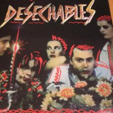 Discos de vinilo: DESECHABLES - AMOR PIRATA - LP - INTERFERENCIAS / DRO 1988 SPAIN 4-002 ORIGINAL -LETRAS - N MINT. Lote 32648172