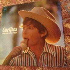Discos de vinilo: LP DE VINILO DE CARLITOS - TITULO CANCIONES ENTRE AMIGOS- DISCO¡¡¡¡NUEVO A ESTRENAR ¡¡¡¡ORIGINAL 74. Lote 32649764