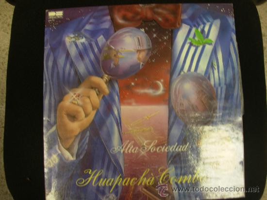 HUAPACHA COMBO. BELTER 1981. LP (Música - Discos - LP Vinilo - Grupos Españoles de los 70 y 80)