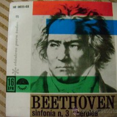 Discos de vinilo: BEETHOVEN SINFONIA Nº 3 HEROICA. Lote 32654261