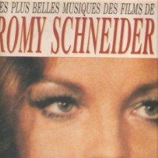 Discos de vinilo: LP ROMY SCHNEIDER - LES PLUS BELLES MUSIQUES DES FILMS DE ROMY SCHNEIDER. Lote 32658116