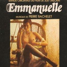 Discos de vinilo: LP EMMANUELLE (BANDA SONORA & SOUNDTRACK & BANDE ORIGINALE DU JUST JAECKIN FILM) . Lote 32658173